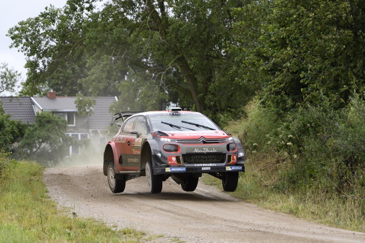 02.07.2017 - Craig Breen (IRL)-Scott Martin (GBR) Citroen C3 WRC, Citroen Total Abu Dhabi WRT