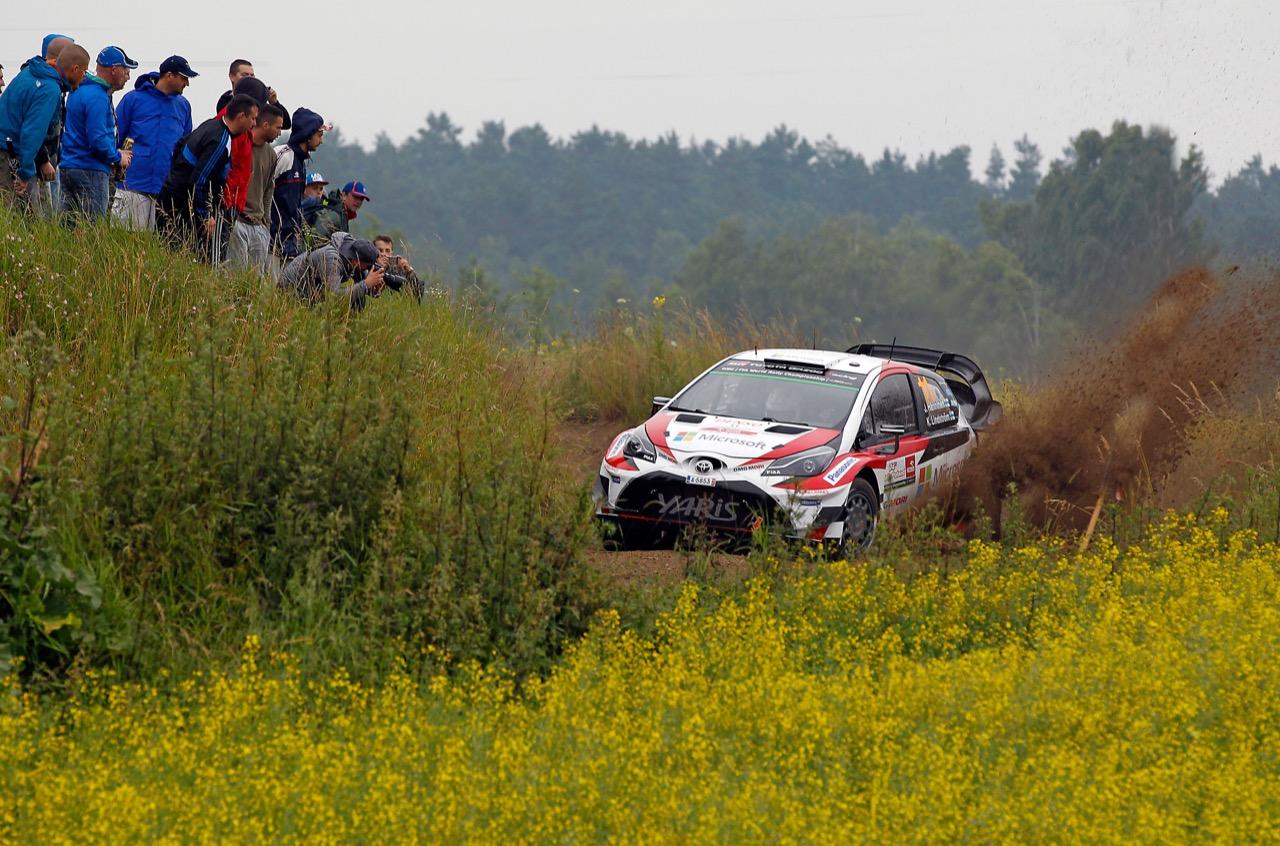 29.06.2017 - Shakedown, Juho Hanninen (FIN)-Kaj Lindstrom (FIN) Toyota Yaris WRC, Toyota Gazoo Racing WRT