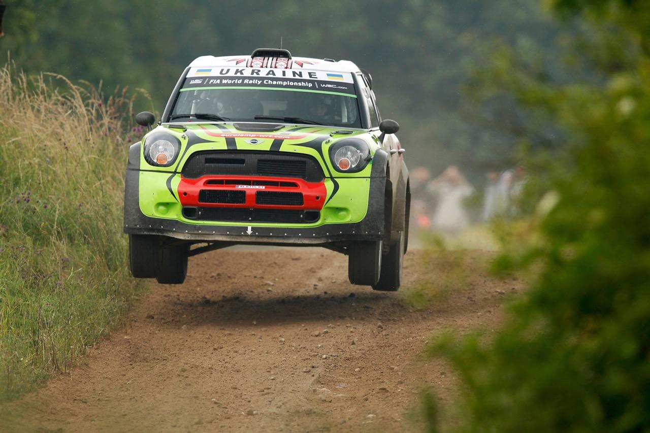 29.06.2017 - Shakedown, Valeriy Gorban (UKR)-Sergei Larens (EST) BMW‐Mini John Cooper Works, Eurolamp World Rally Team