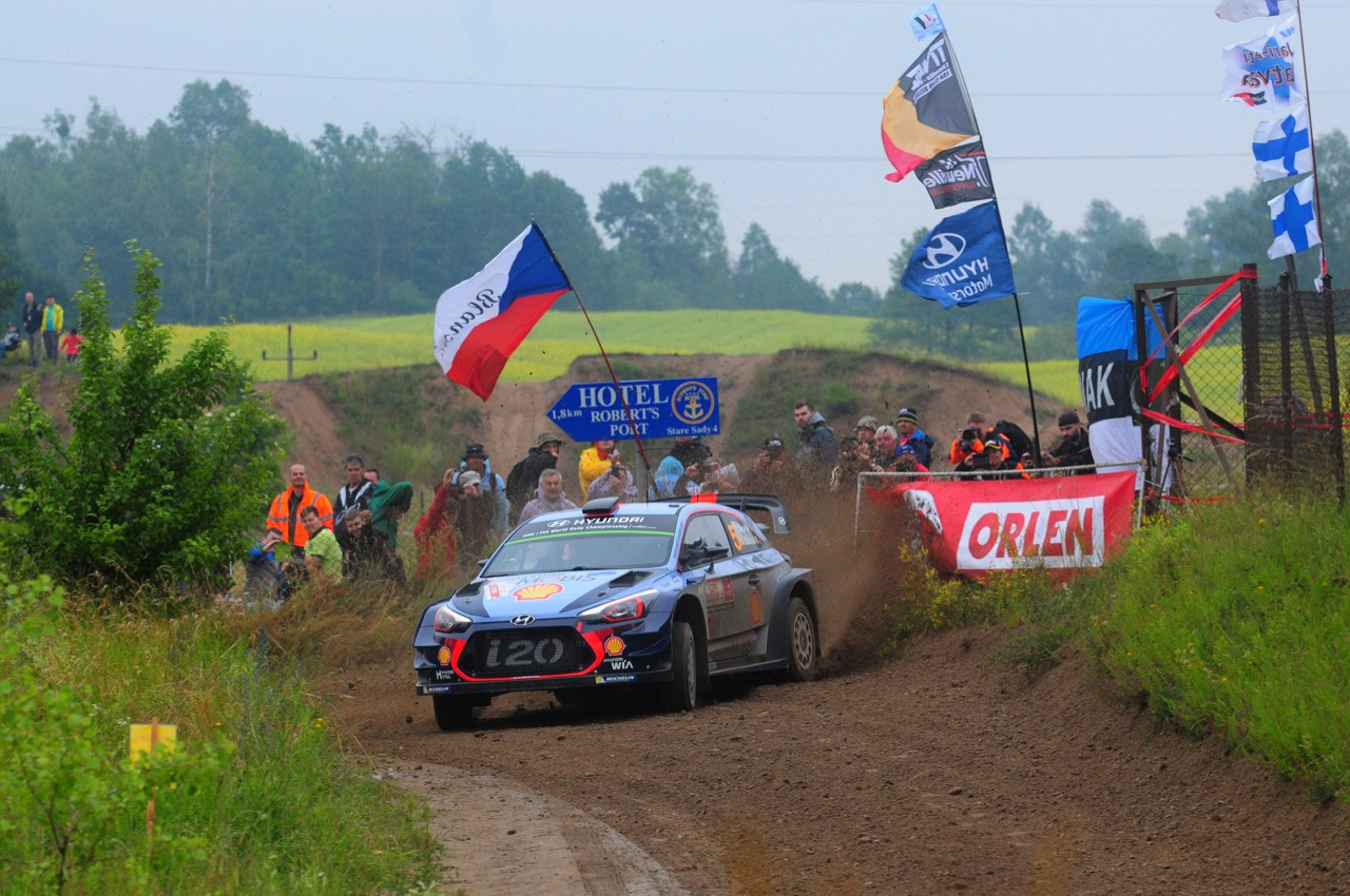 29.06.2017 - Shakedown, Thierry Neuville (BEL)-Nicolas Gilsoul (BEL) Hyundai i20 Coupe WRC, Hyundai Motorsport