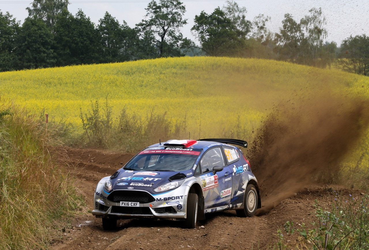 29.06.2017 - Shakedown, Eric Camilli (FRA) - Benjamin Veillas (FRA) Ford Fiesta R5, M-Sport World Rally Team