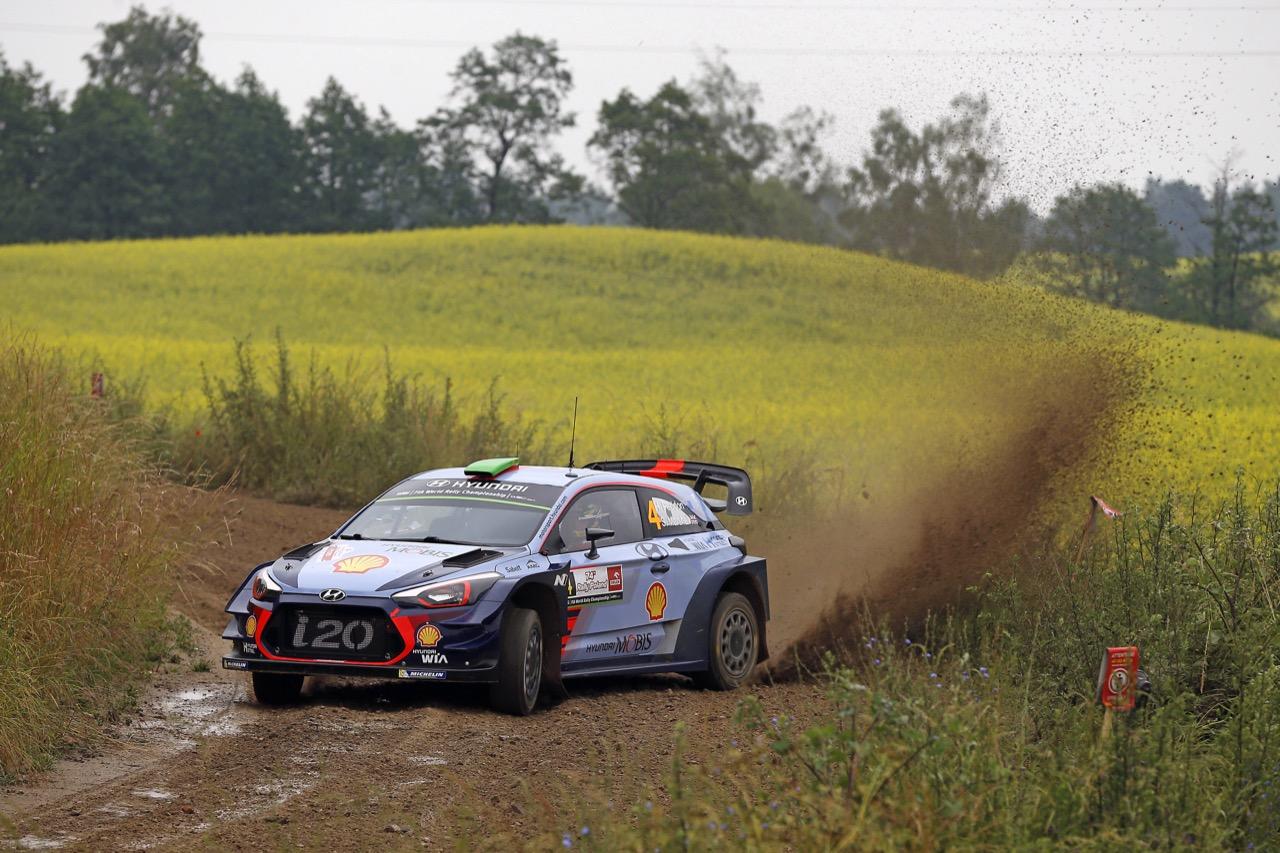 29.06.2017 - Shakedown, Hayden Paddon (NZL)-John Kennard (NZL) Hyundaii20 Coupe WRC, Hyundai Motorsport
