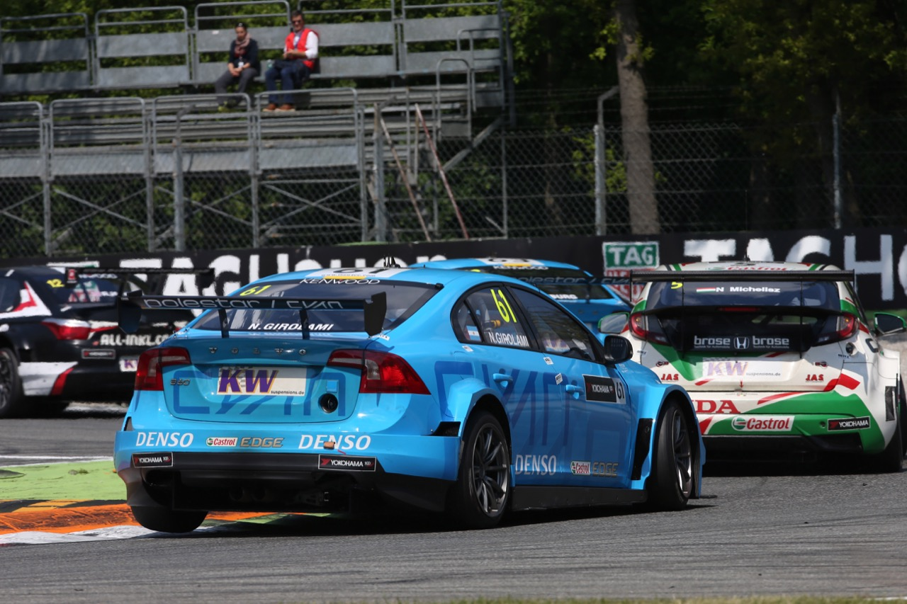 Nestor Girolami (ARG), Volvo S60 WTCC, Polestar Cyan Racing