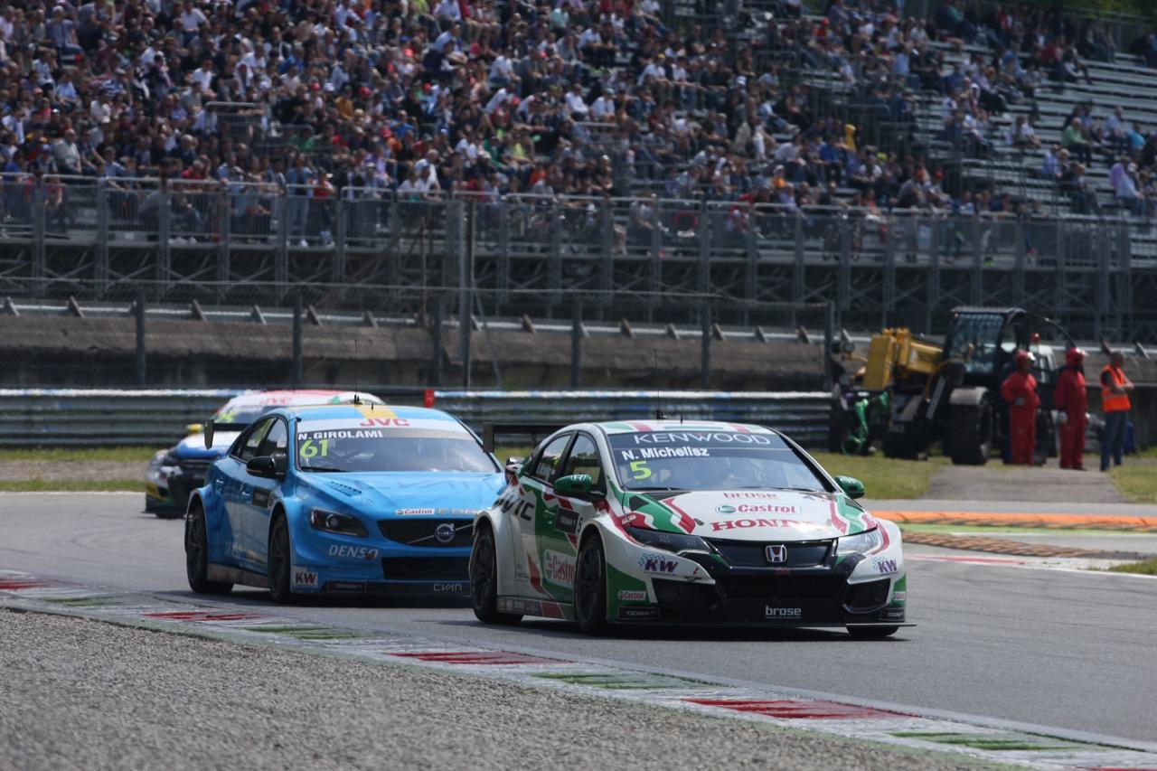 Norbert Michelisz (HUN), Honda Civic WTCC, Honda Racing Team JAS