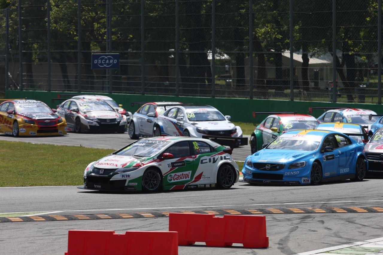 Tiago Monteiro (PRT), Honda Civic WTCC, Honda Racing Team JAS