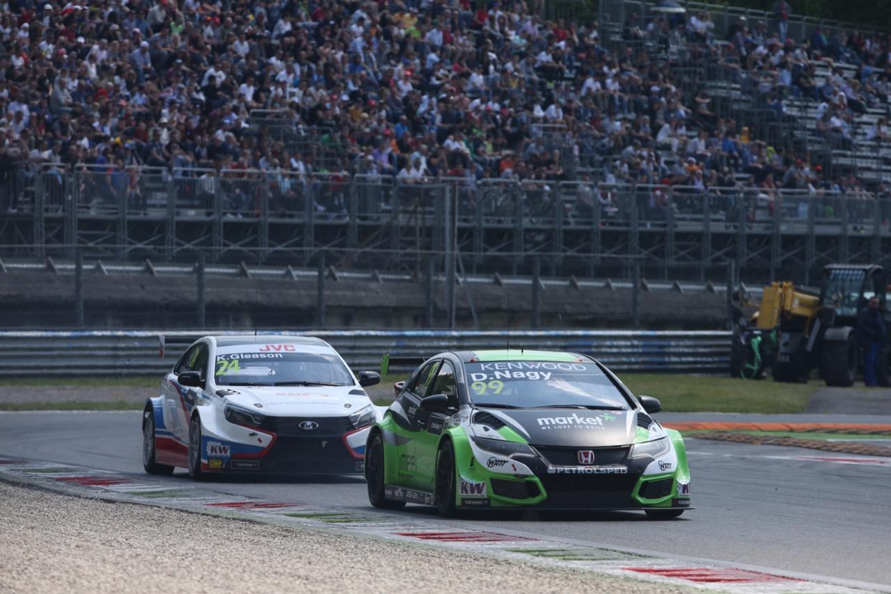 Daniel Nagy (HUN), Honda Civic WTCC, Zengő Motorsport Kft.