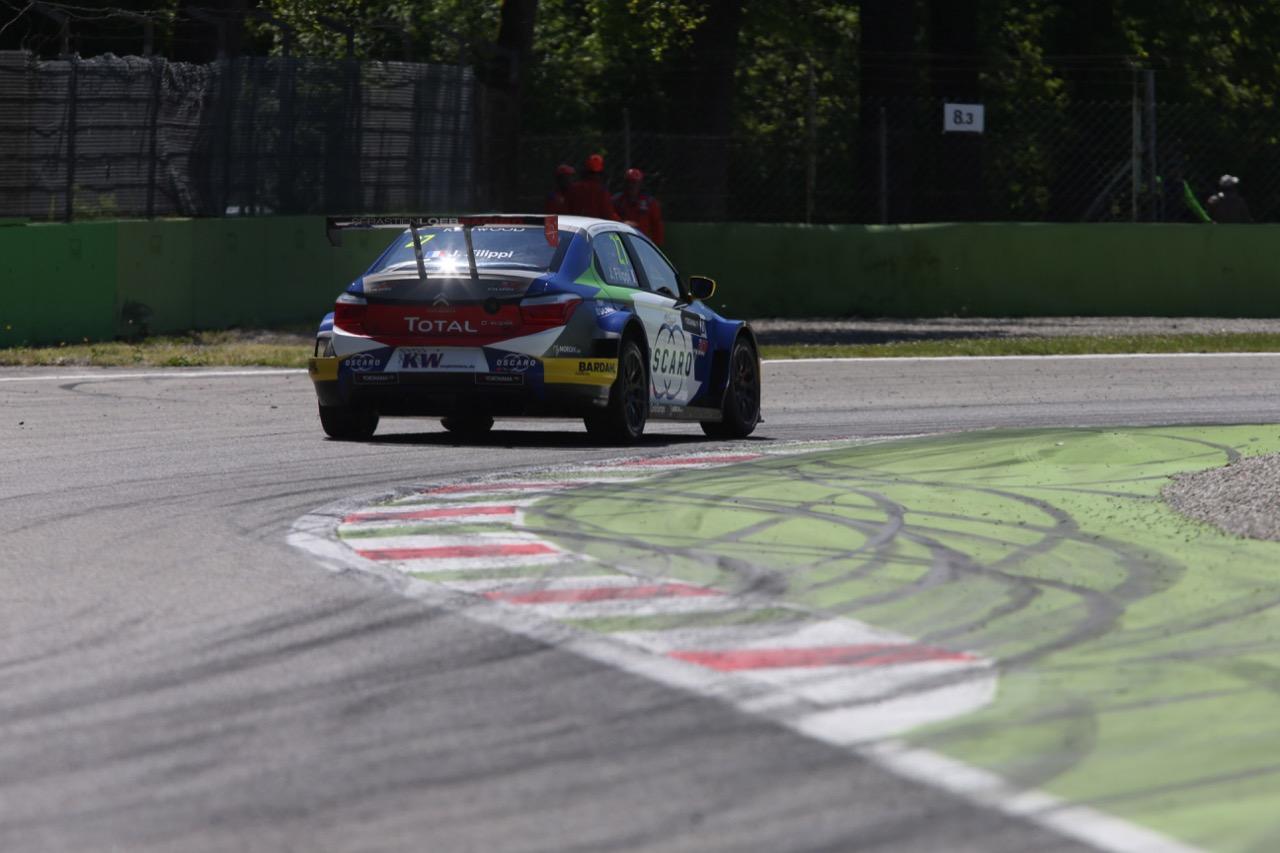 John Filippi (FRA), Citroën C-Elysée WTCC, Sebastien Loeb Racing