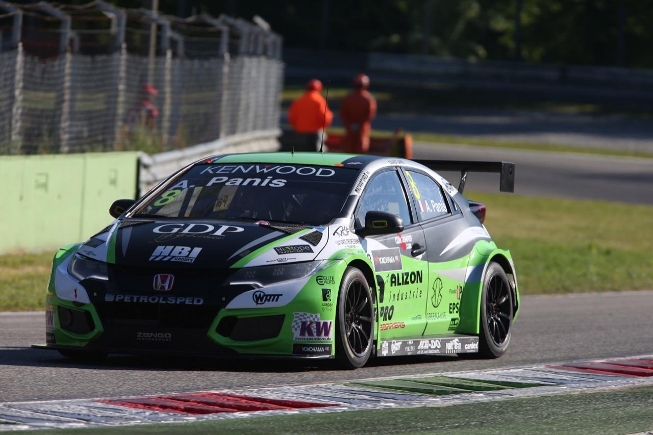 Aurélien Panis (FRA), Honda Civic WTCC, Zengő Motorsport Kft
