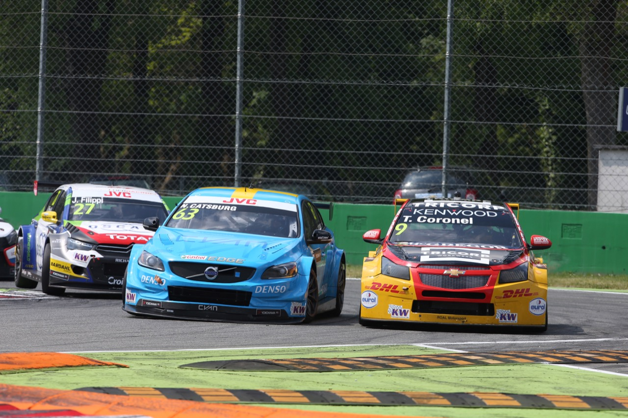 Nicky Catsburg (NLD), Volvo S60 WTCC, Polestar Cyan Racing