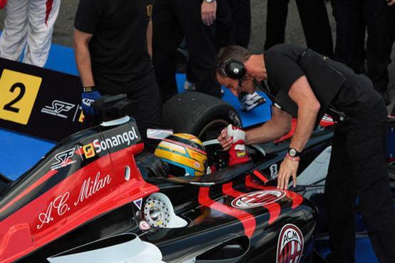 Giorgio Pantano e AC Milan trionfano nel secondo appuntamento della Superleague Formula