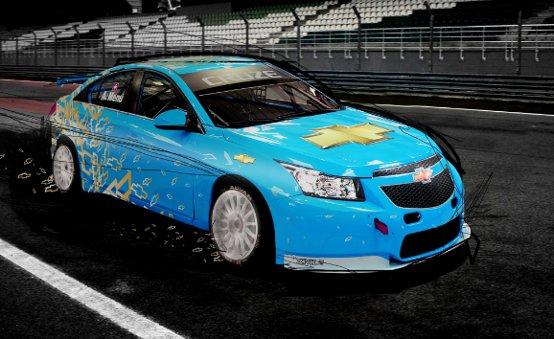 La Chevrolet Cruze che gareggia nel campionato WTCC cambia veste