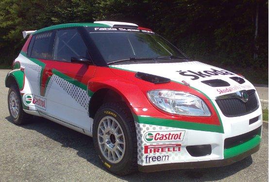 La Skoda Fabia S2000 debutta al Rally di San Marino