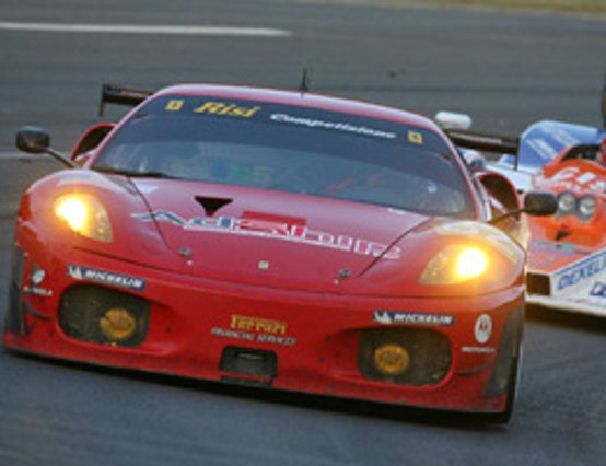 Fantastico poker Ferrari a Le Mans