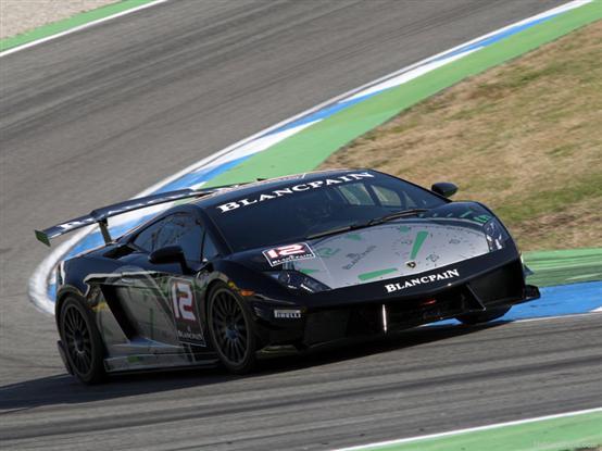 Tripletta per Klingmann nel Super Trofeo Lamborghini