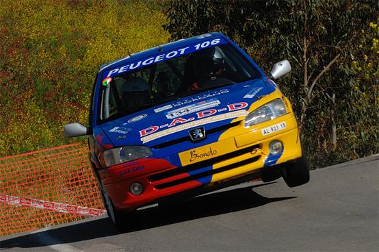 S.G.B Rallye: gara test con podio a Brolo