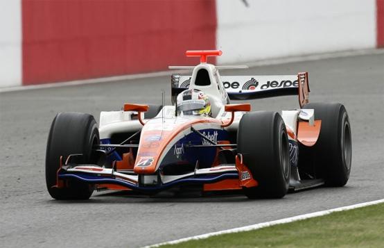 GP2: segnali positivi per Trident Racing al Nurburgring