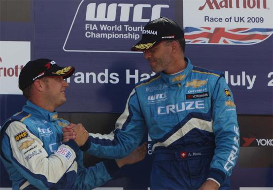 WTCC – Brands Hatch: quarta vittoria consecutiva per Chevrolet e Menu