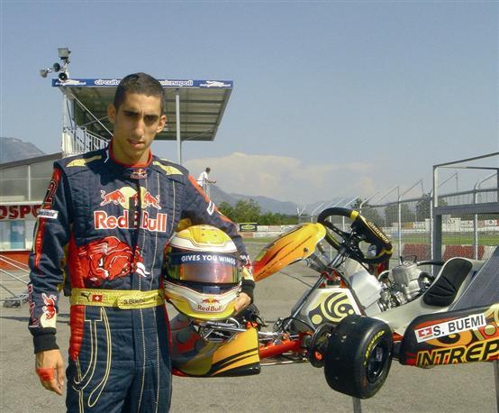 Sébastien Buemi nei test collettivi a Sarno