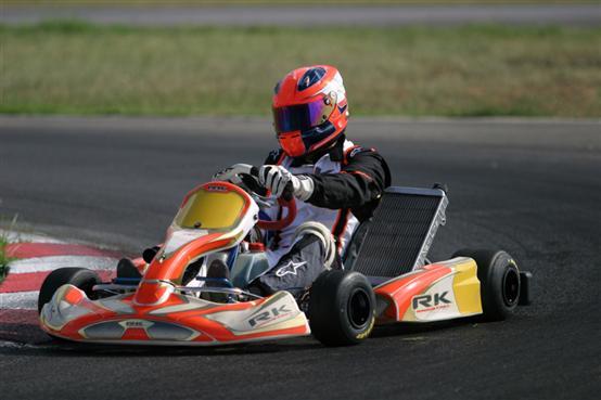 Robert Kubica in pista a Sarno!