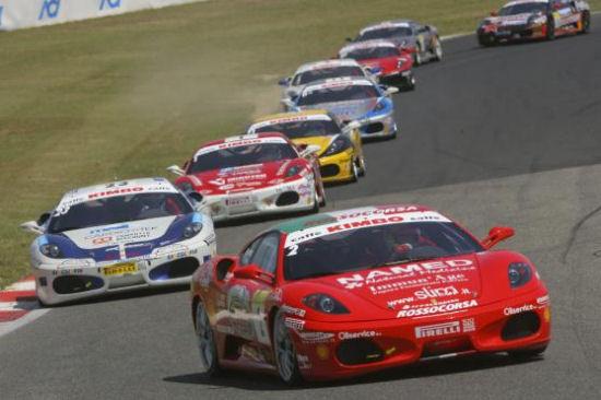 Ferrari Racing Days a Brno