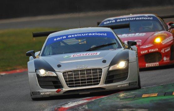 La Audi R8 LMS vince a Monza