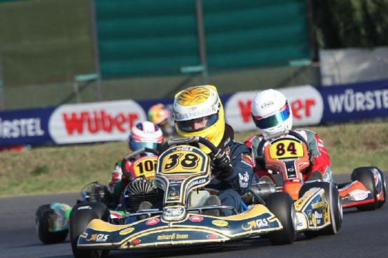 KART – Quinto posto alle finali mondiali di Siena per il Minardi by Blu Racing Team