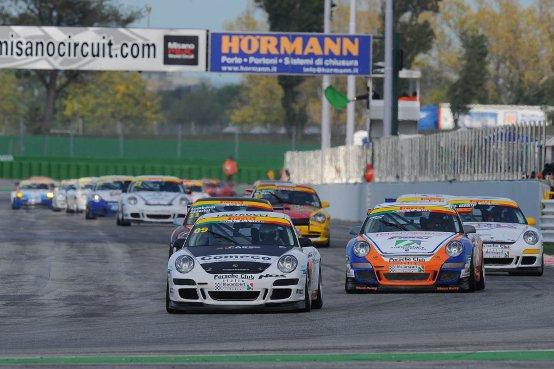 Targa Tricolore Porsche sul Misano World Circuit: Le finali