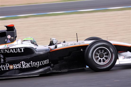 Scuderia Coloni sugli scudi nei test a Jerez della GP2