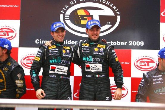FIA GT: Chiusura di stagione da protagonista per Matteo Bobbi