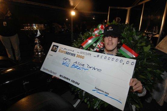 Euroseries 3000: Bratt è campione della GP2 Asia
