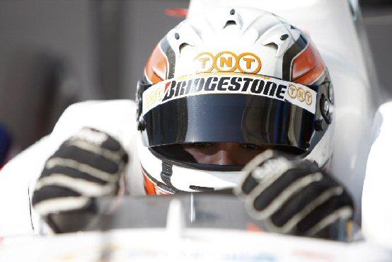 Daniel Zampieri ai test WS Renault 3.5 di Barcellona