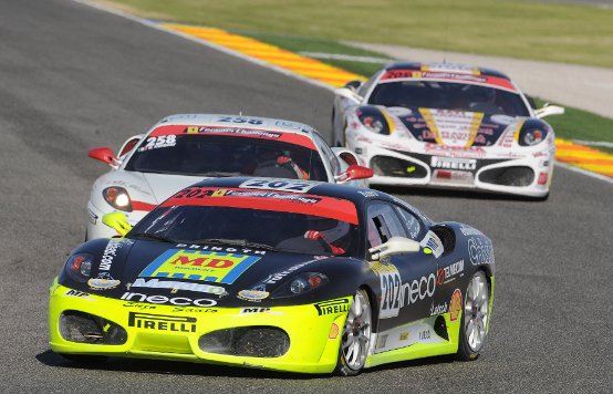 Ferrari in festa a Valencia