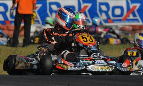 Alessandro Vantini campione internazionale SUPER ROK 2009