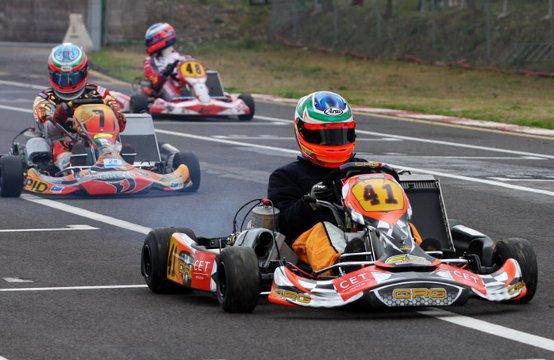 Mirko Torsellini si aggiudica l' 8° Trofeo Citta' di Siena in KZ2