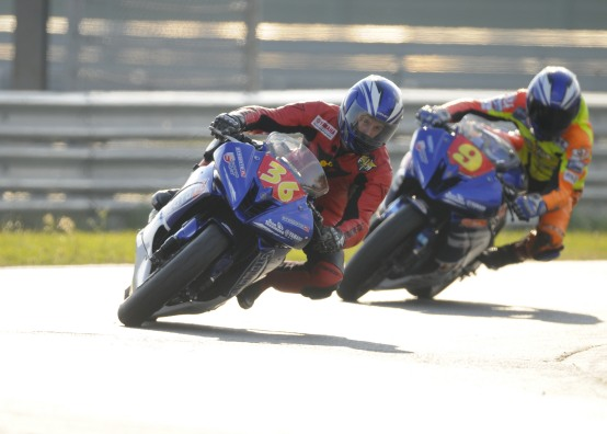 Nel 2010 Yamaha R125 Cup raddoppia