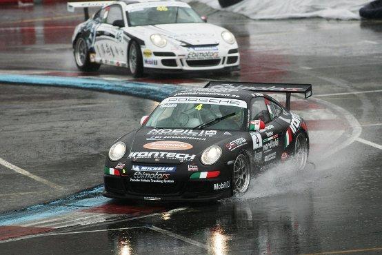 Carrera Cup Italia, Balzan vince al Motor Show