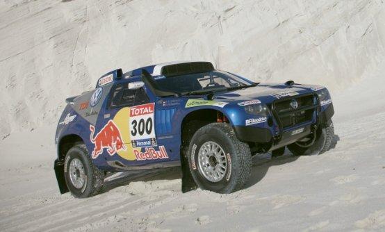 La Volkswagen sulla via del Dakar Rally 2010