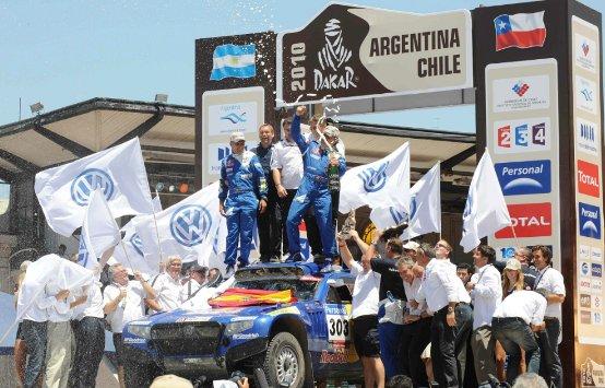 Trionfo Volkswagen al Dakar Rally 2010