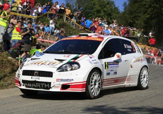 Abarth nel Campionato Italiano Rally con Basso e Rossetti