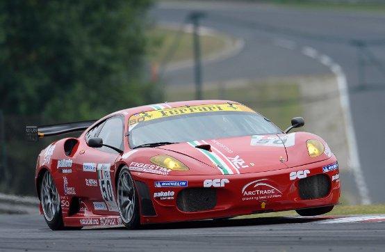 Testing Day con la Ferrari F430 a Vallelunga