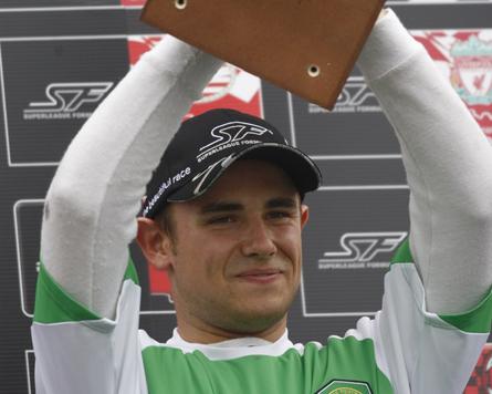 Davide Rigon firma con RSC Anderlecht e torna in Superleague Formula
