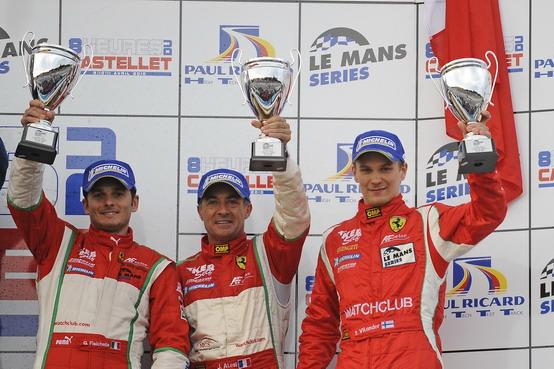 Le Mans Series: Fisichella, Alesi e Vilander sul podio d'onore a Le Castellet