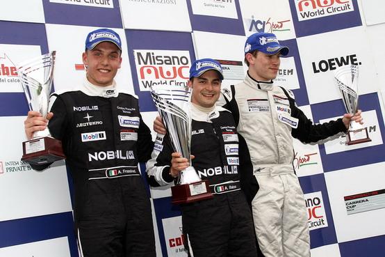 Carrera Cup: Alessandro Balzan si aggiudica la prima gara della stagione