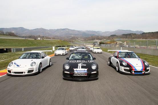 Carrera Cup Italia al via dal circuito di Misano