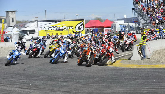 Mondiale Supermoto: si parte con il GP di Lombardia a Castelletto di Branduzzo