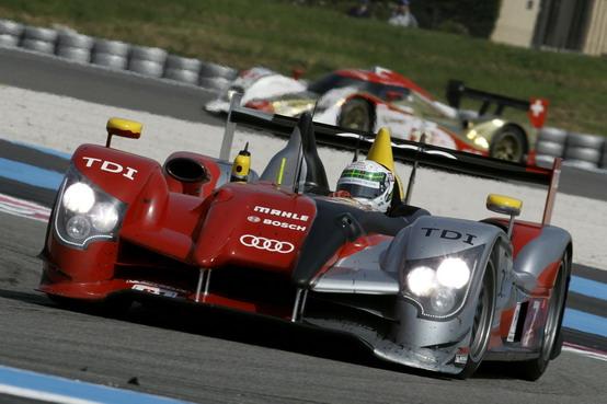 LeCastellet: Allan McNish domina la 8 Ore sull'Audi R15 TDI