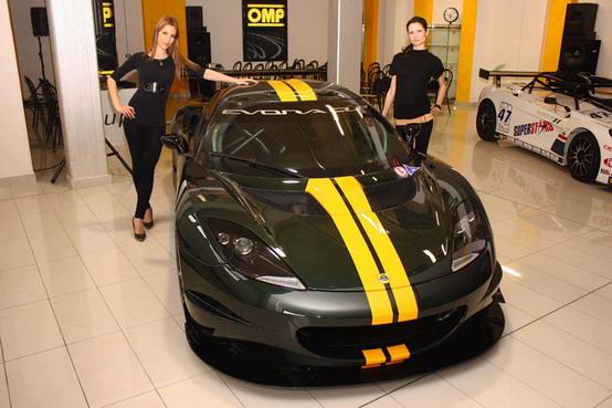 Lotus Cup 2010 presentata a Bagnatica in esclusiva per l'Italia
