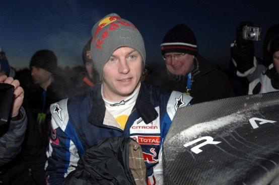 Räikkönen e Ogier al Rally della Lanterna
