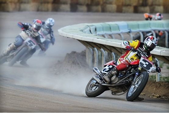 Hypermotard: Joe Kopp domina su Ducati il dirt trak americano