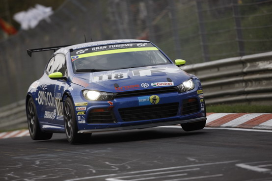 "Nürburgring: Volkswagen Scirocco domina la categoria ""alimentazione  alternativa"""